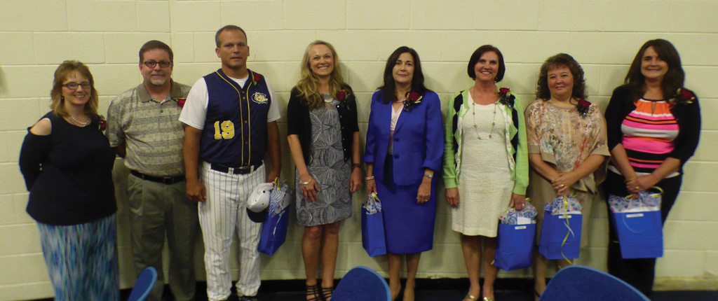 Nominees for Teacher of the Year