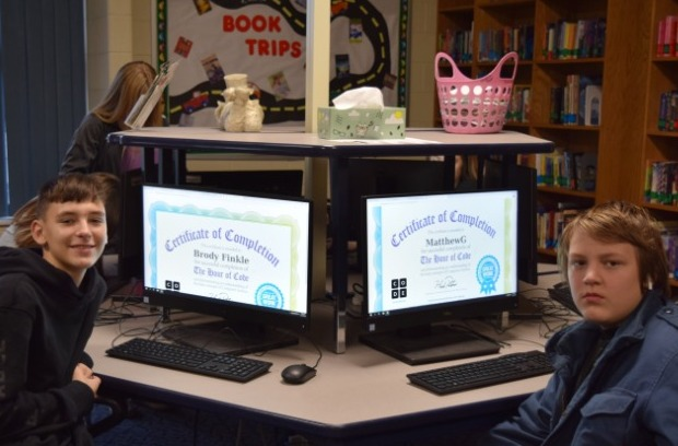All Grayson Schools participated in the Hour of Code!