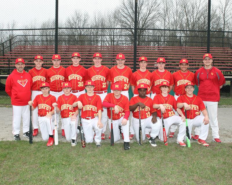 2016-17 MHS Red Devils JV Baseball Team