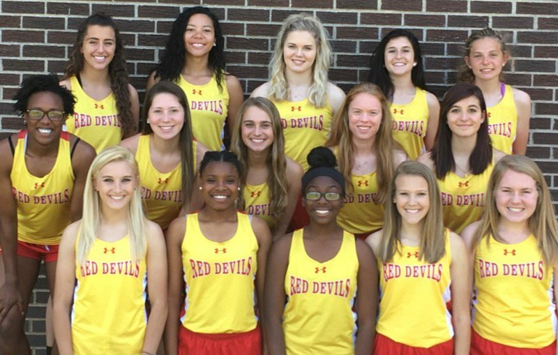 2016-17 MHS Red Devils Girls Track Team