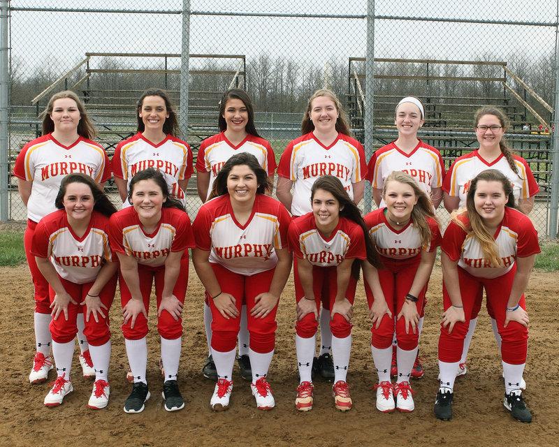 2016-17 MHS Red Devils Varsity Softball Team