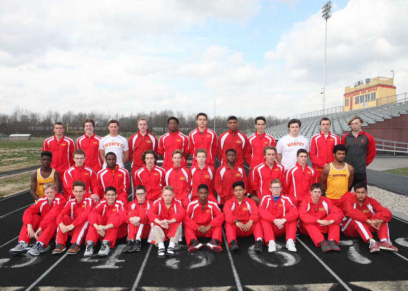 2016-17 MHS Red Devils Boys Track Team