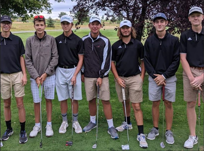 Golf Team at the Sheridan Invite