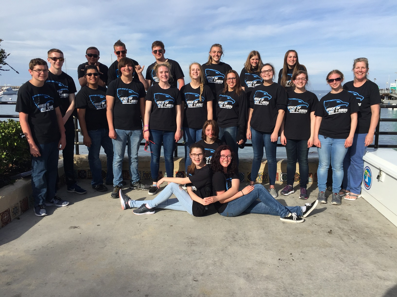EHS Choir at Catalina Island 2018