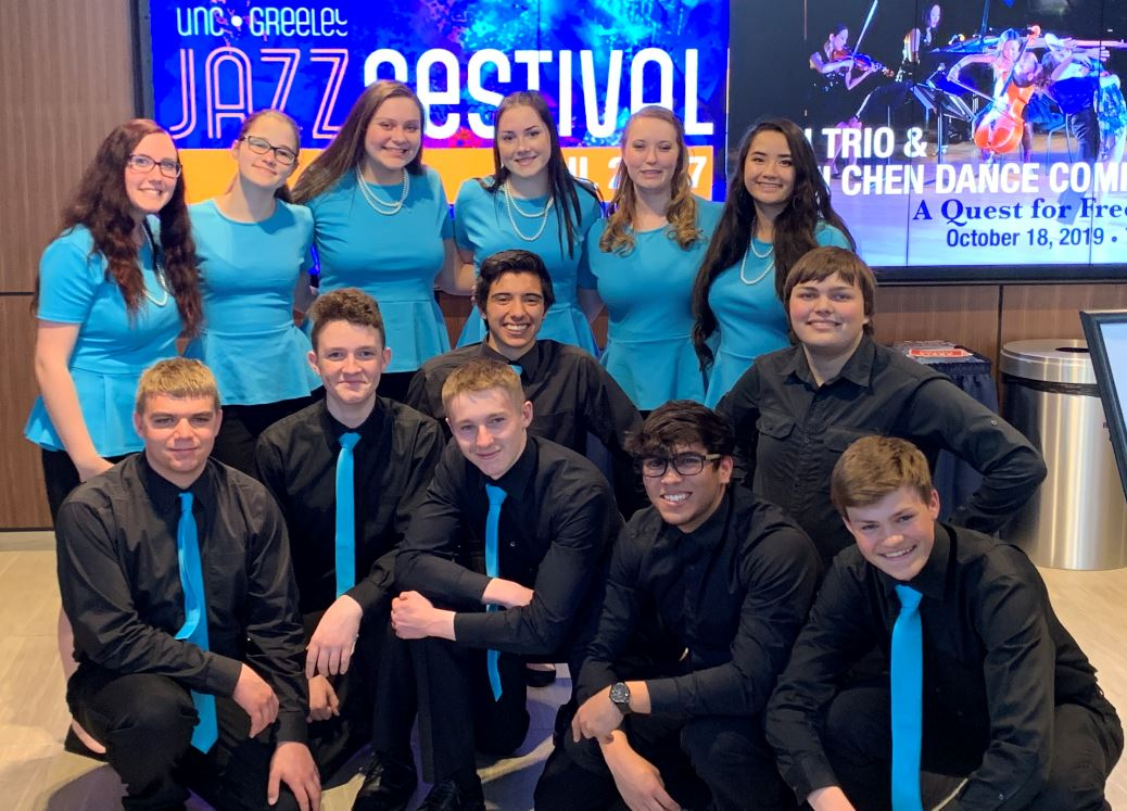 East High Singers at the UNC Jazz Festival