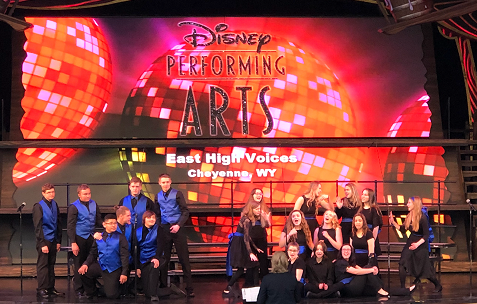 EHS Choir Performs at Disney!