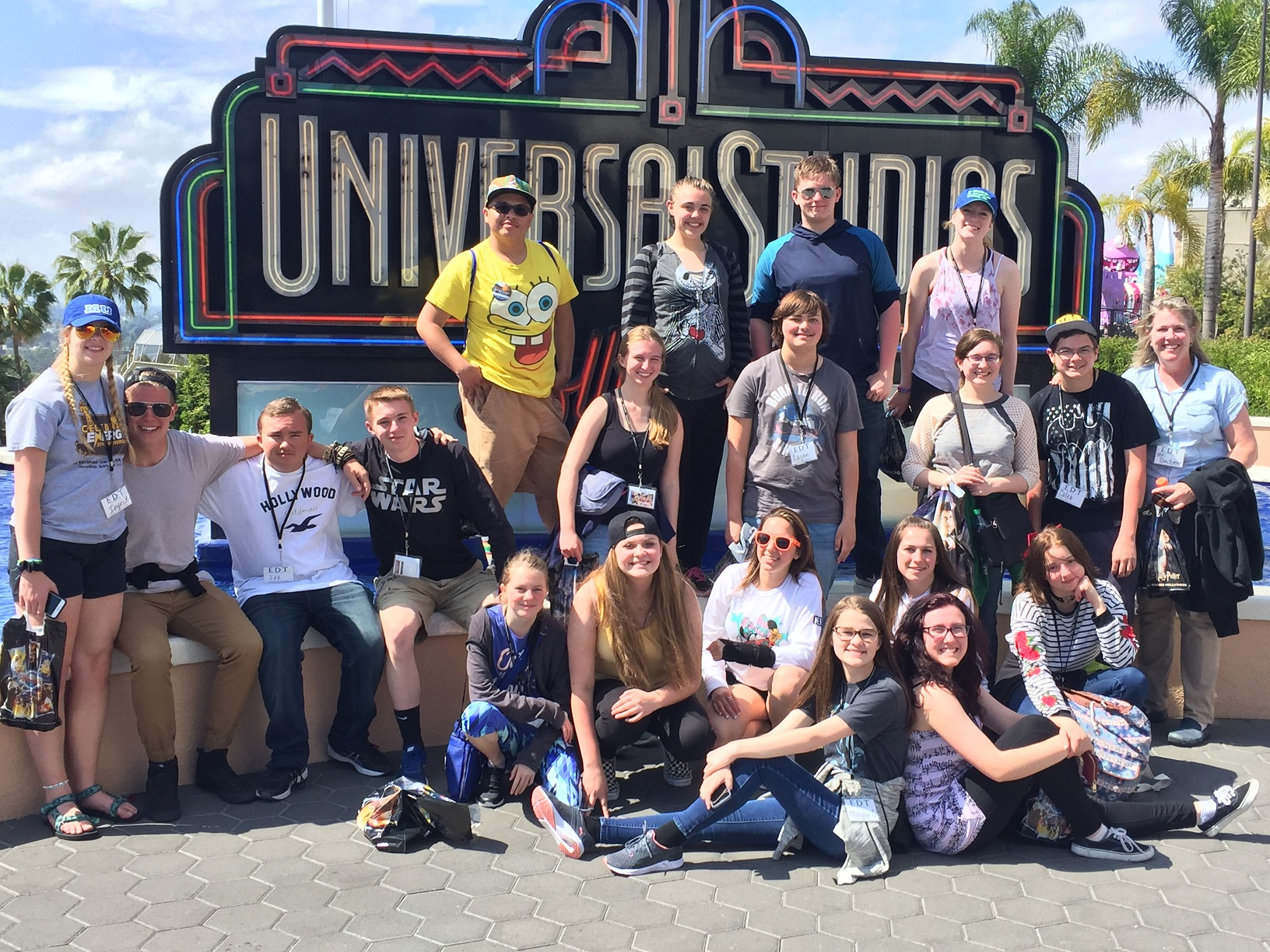 EHS Choir Enjoys Universal Studios