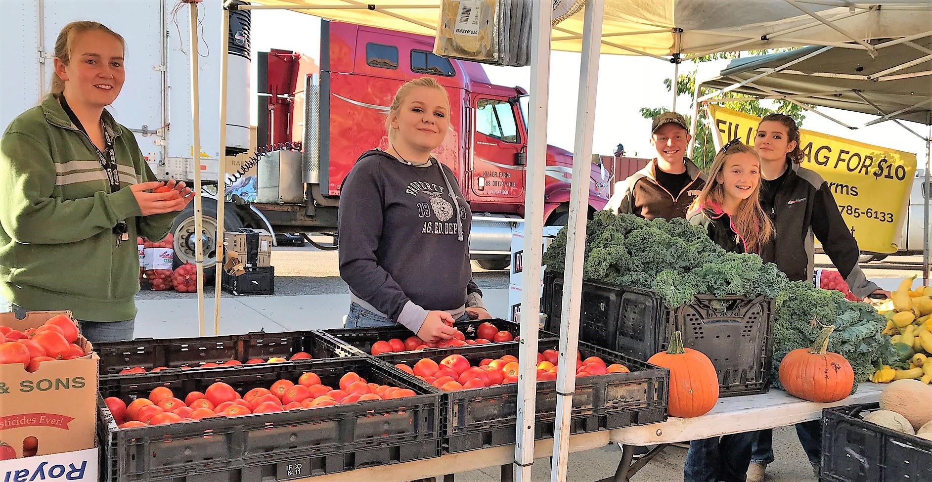 Frontier FFA @ Cheyenne Farmer's Market