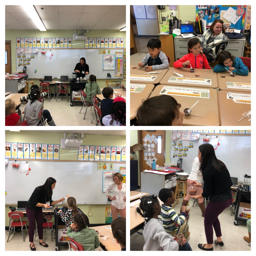 JA Students Learn About Healthy Eating