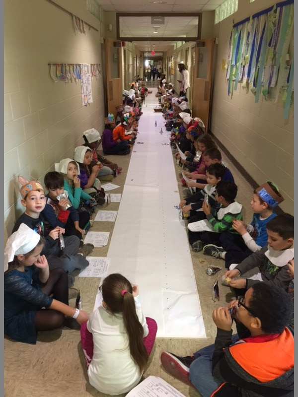 Grade 2's Thanksgiving Feast