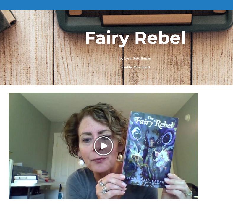 Listen to Fairy Rebel Read by Mrs. Bradt!