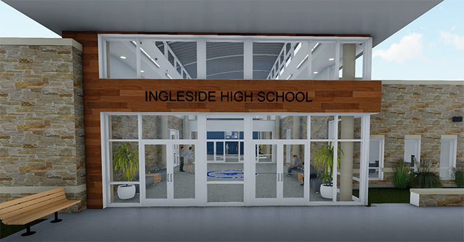 Walkthrough Interior of New High School