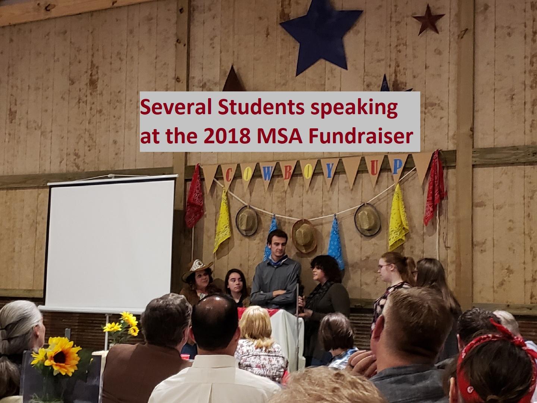 MSA Fundraiser