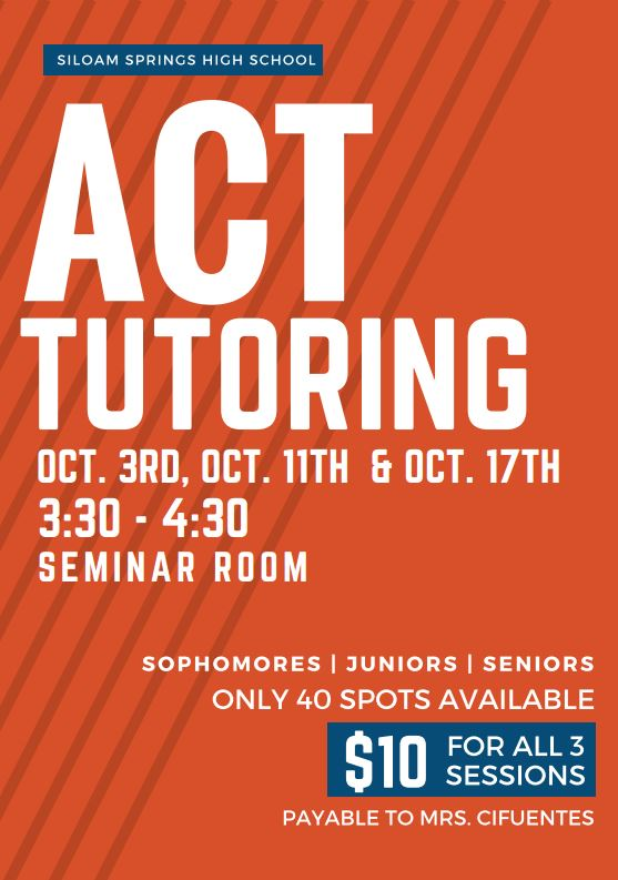 ACT Tutoring Sessions: