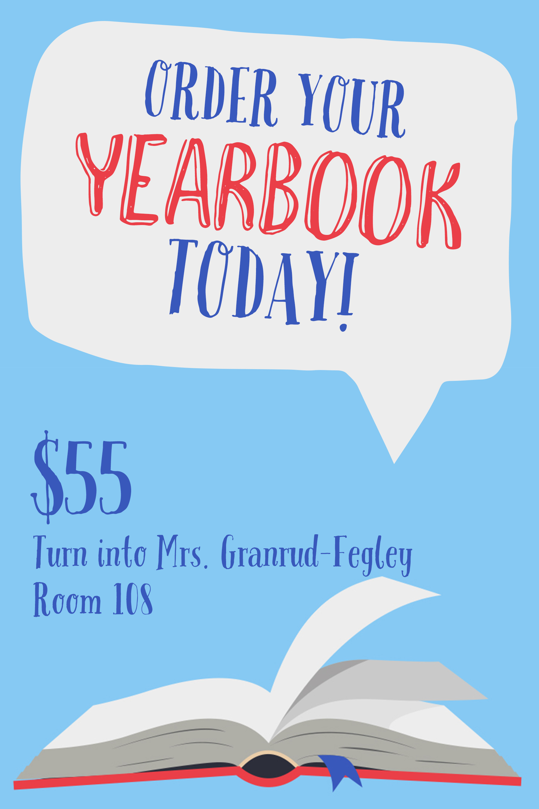 Order Your Yearbook....