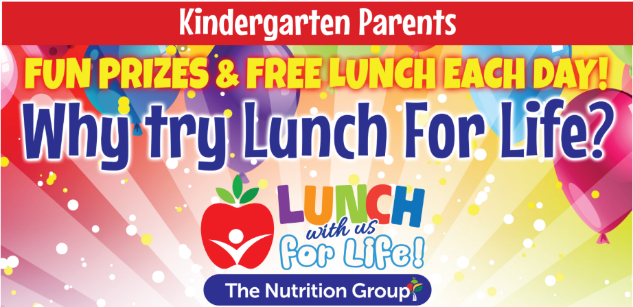 Lunch for Life- August 27-29