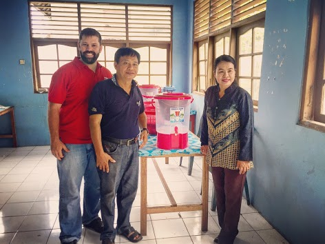 The following images are where our donations went in Indonesia!!
