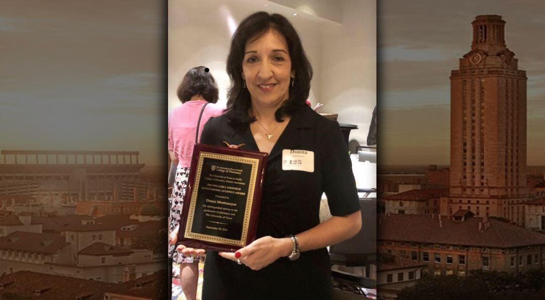 Congratulations, Alice ISD Graduate Donna Rogers Montemayor wins UT's Outstanding Alumnus Award