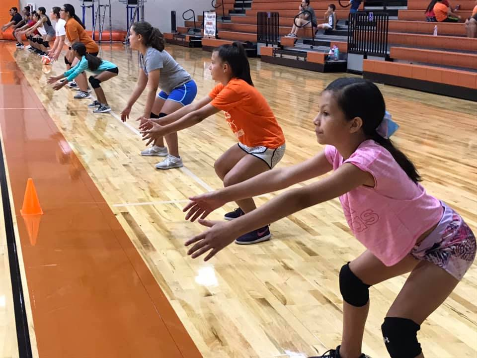 Volleyball mini camp