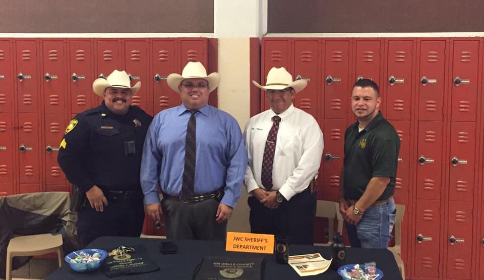 JWC Sheriff's Department at AHS Meet the Teachers