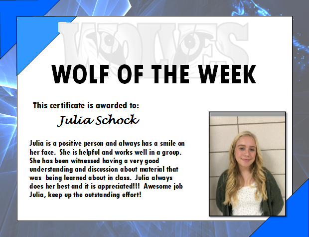 Wolf of the Week