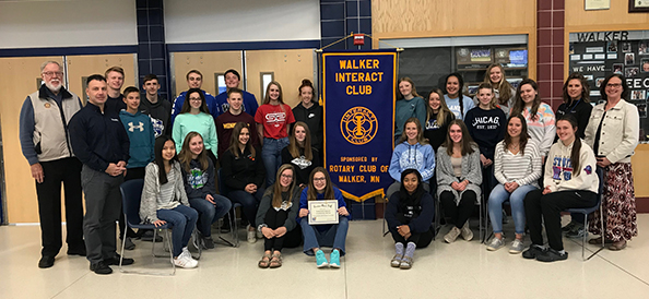 April 29th - Interact Club Earns Community Service Award