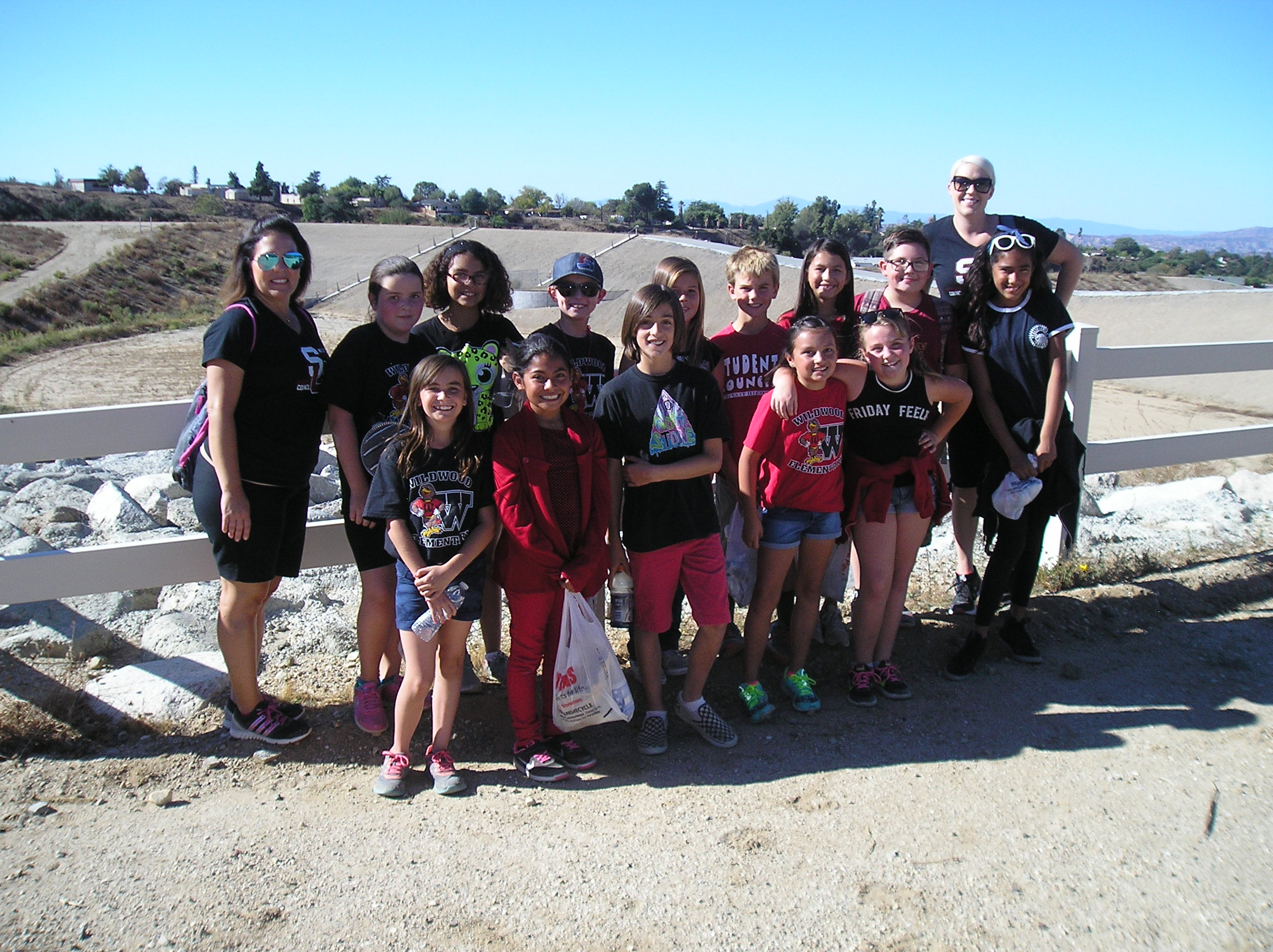 WES Student Council Adopts-A-Trail