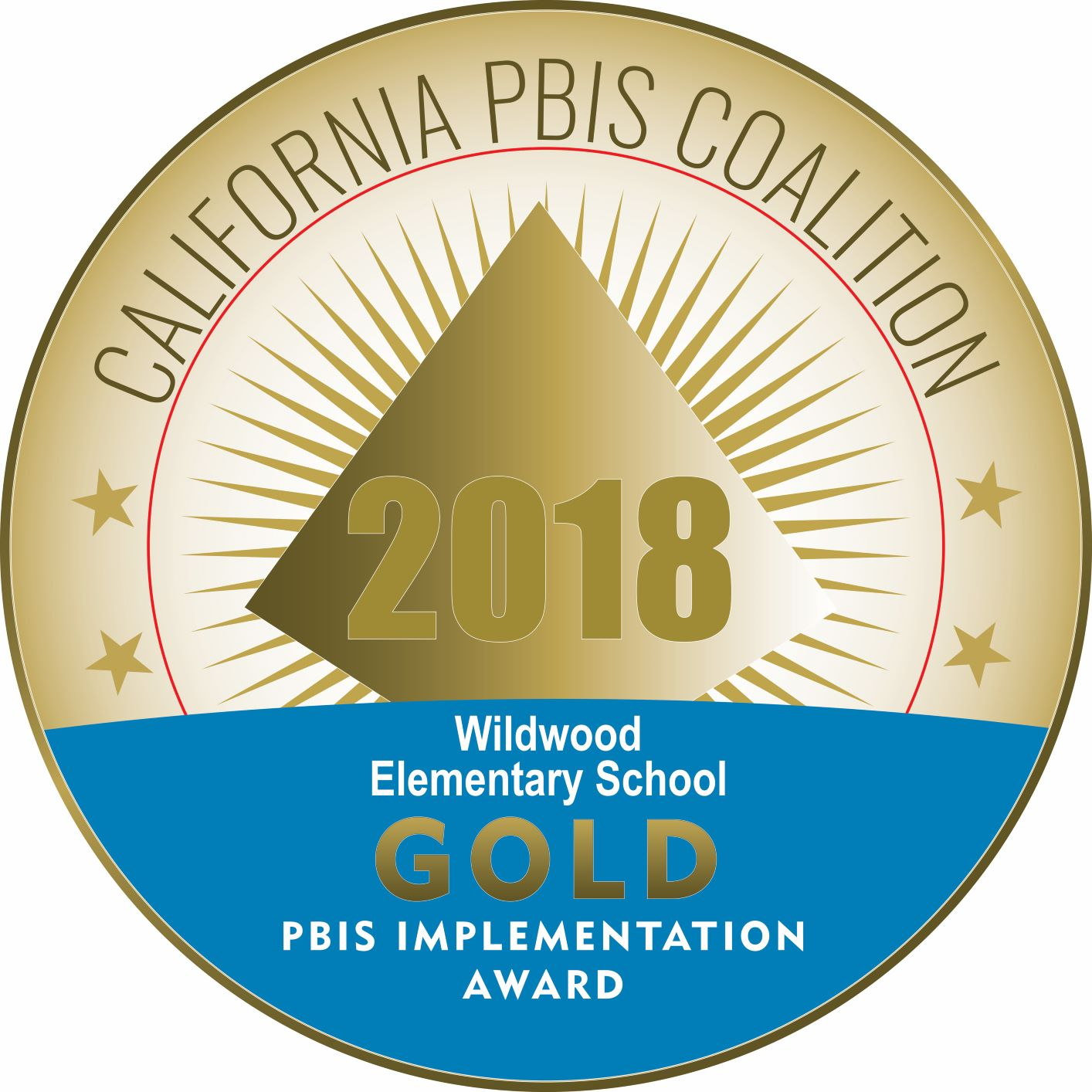 CA PBIS Coalition Gold Level Awardee