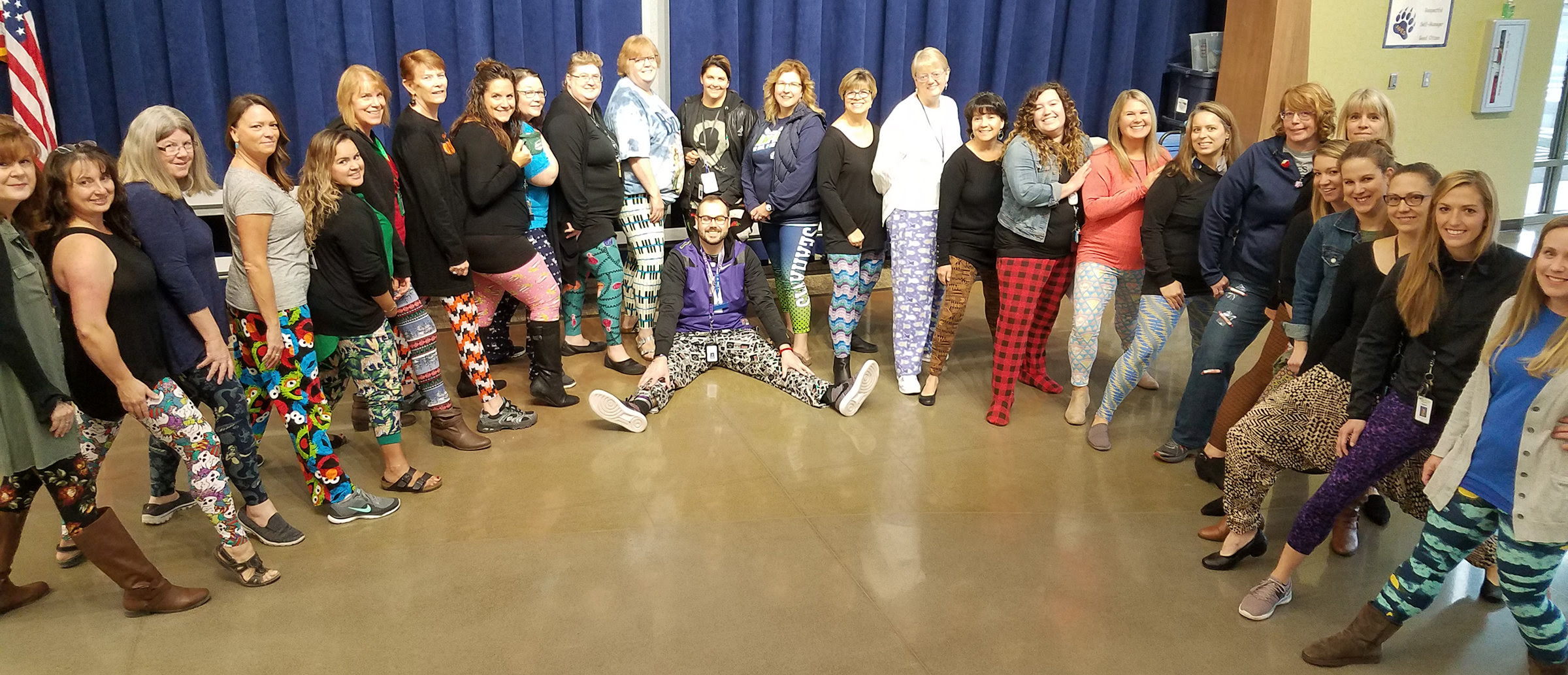 Crazy Pants at the Elementary