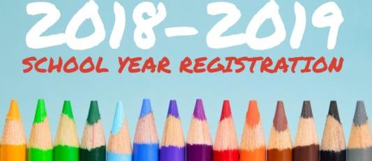 Register for 2018-2019