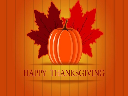District Office and schools closed in honor of Thanksgiving
