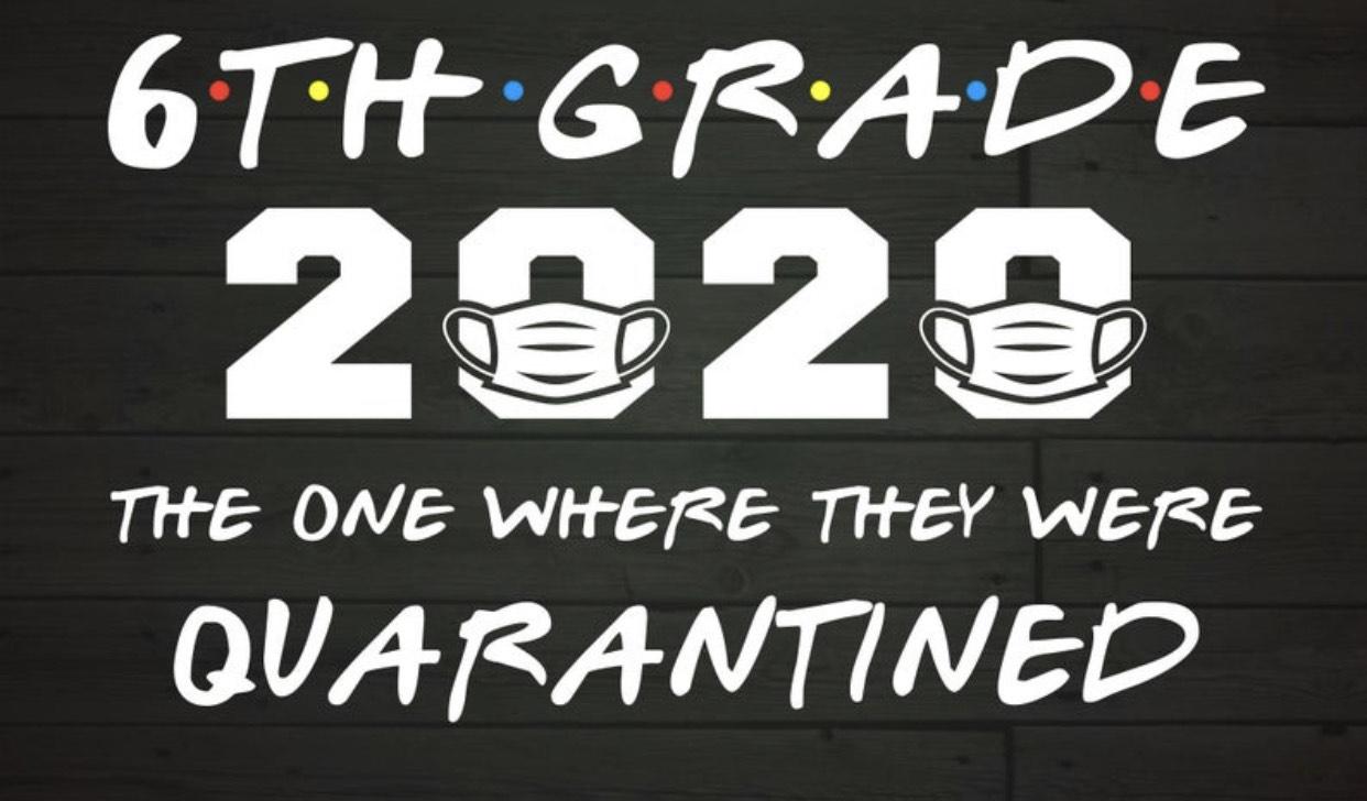 6th grade Drive-in Graduation