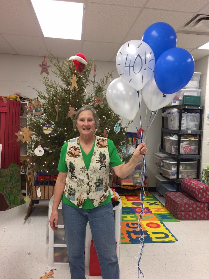 Mrs. Sutton Retires after 40 Years