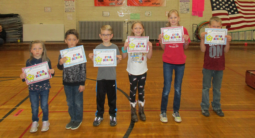 Readers of the Month for October