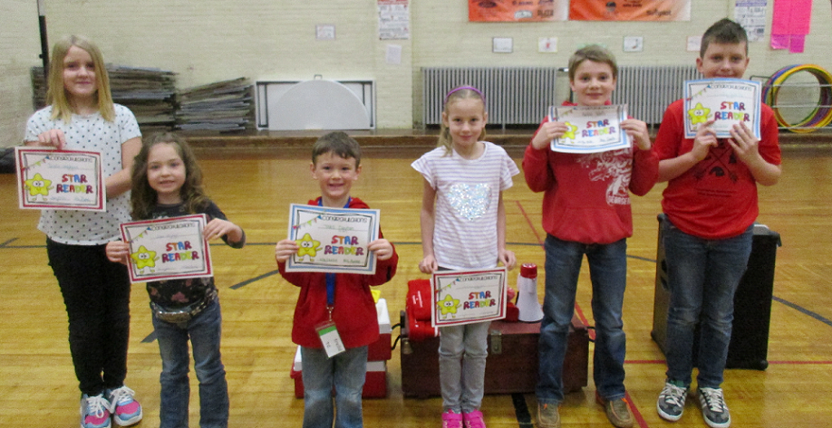 Readers of the Month for January