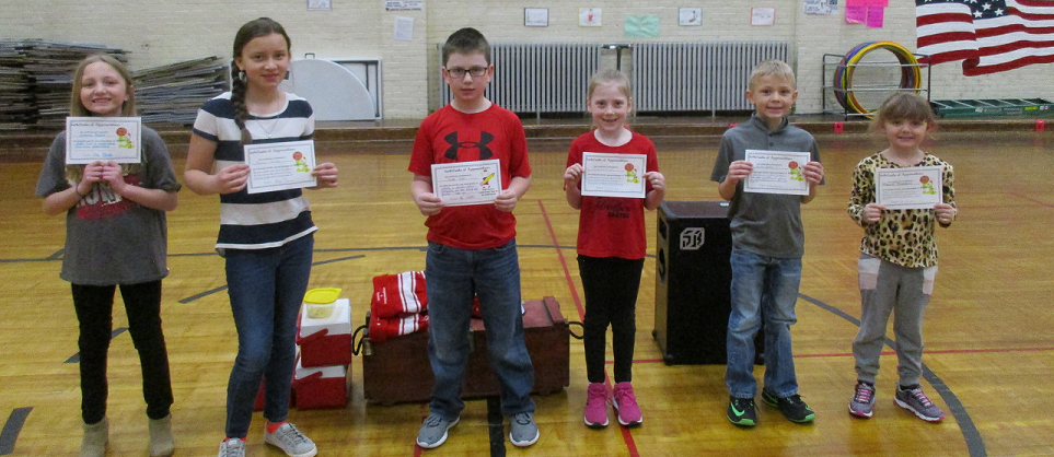 Leaders of the Month for January