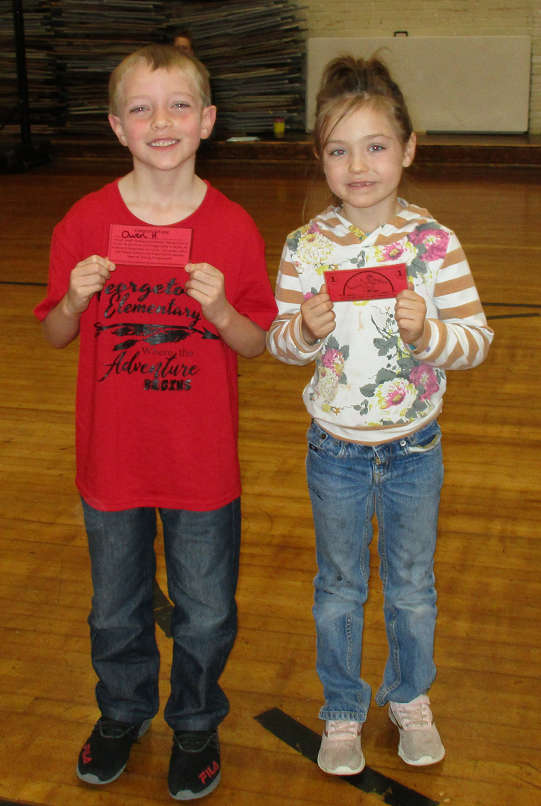 Dragon Pride Prize Winners for October