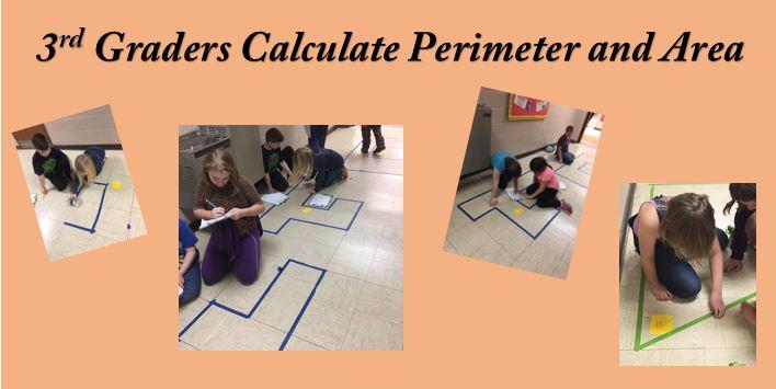 Third Grade Math Students Hard At Work!