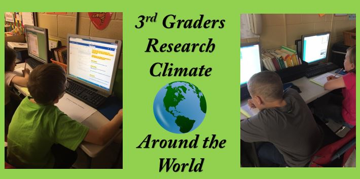 3rd Graders Working in Office 365
