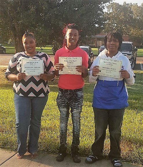 WPHS SOUTH SHINING STARS  FOR SEPTEMBER