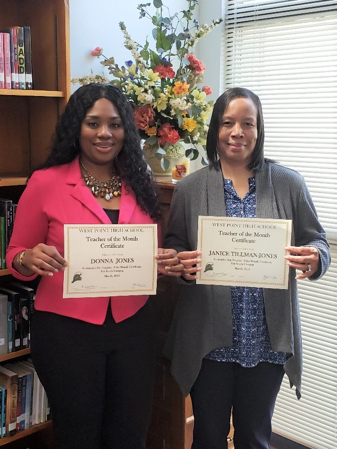 WPHS SOUTH FEATURED FACULTY FOR MARCH