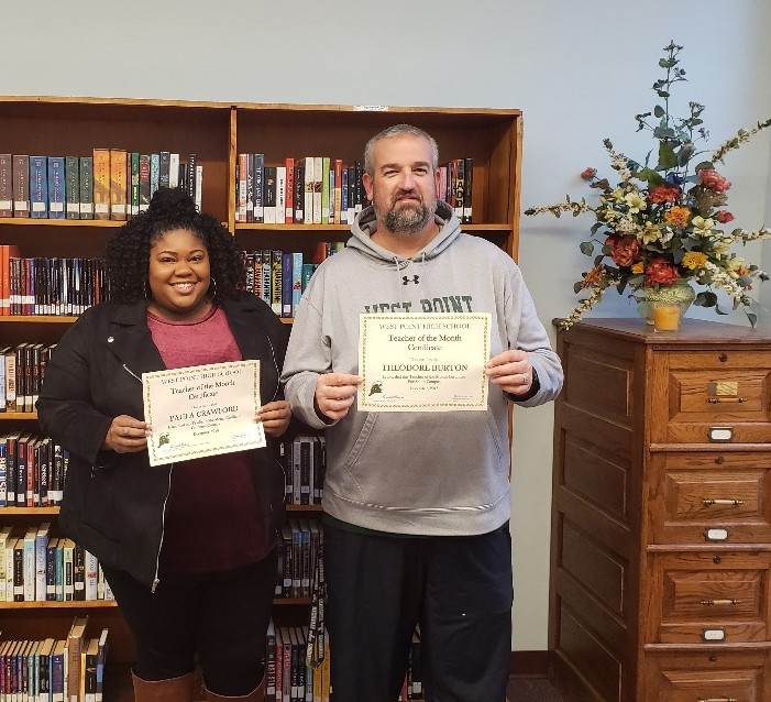 WPHS SOUTH FEATURED FACULTY FOR DECEMBER