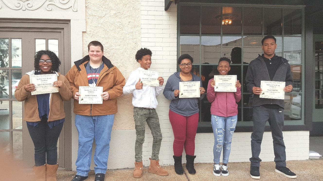 WPHS STUDENTS & TEACHERS OF THE MONTH