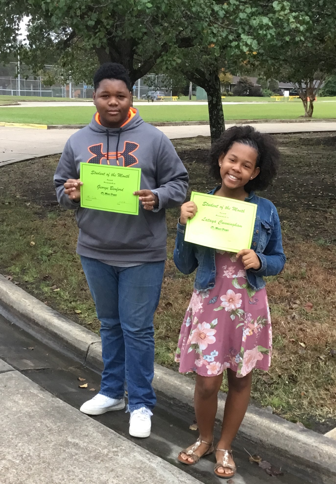 WPHS NORTH SHINING STARS FOR OCTOBER