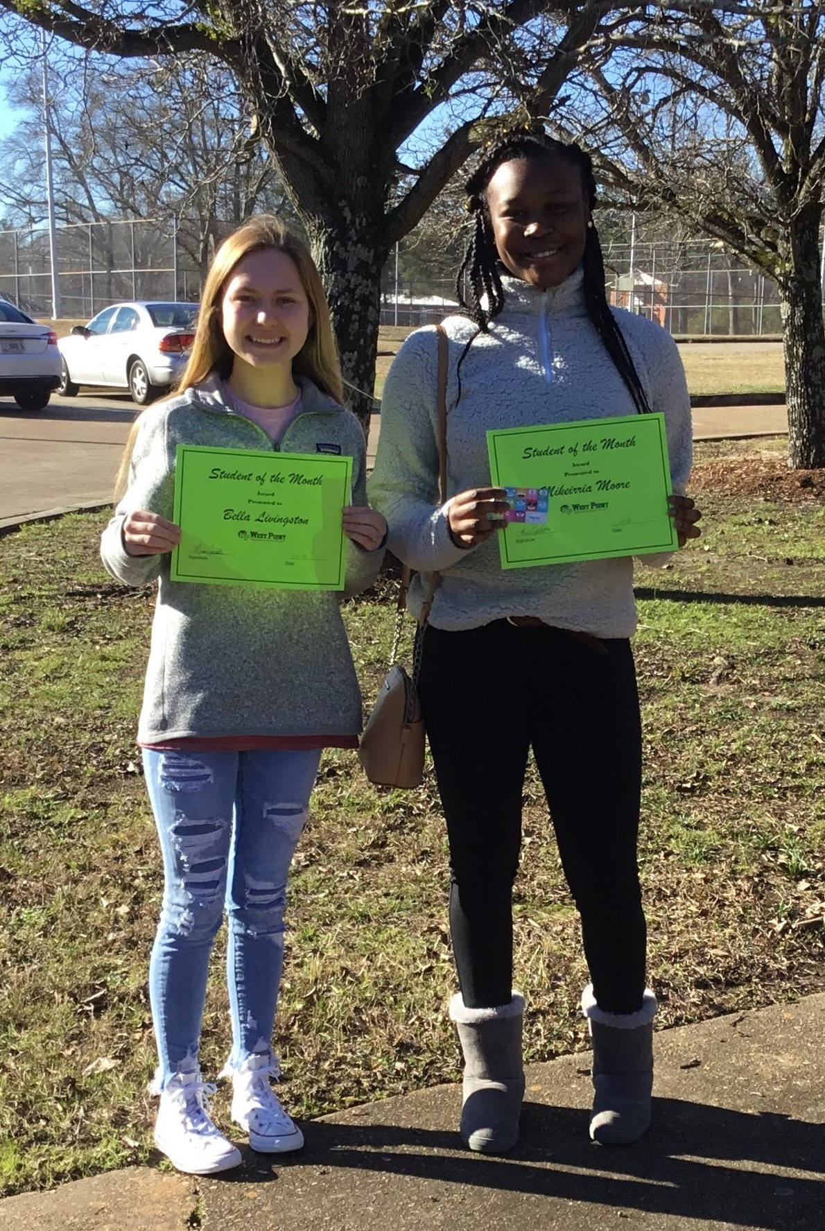 WPHS North Shining Stars for December