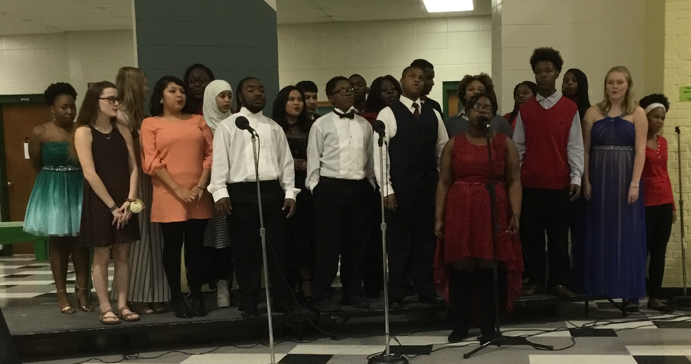 2018-2019 Choral gala was a huge success!