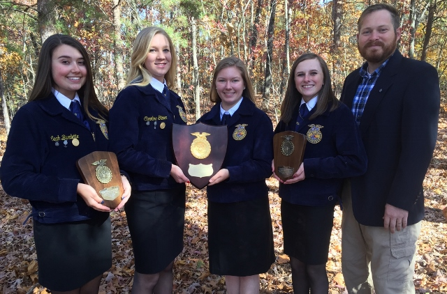 FFA Soils & Land Team Win First Place State Title