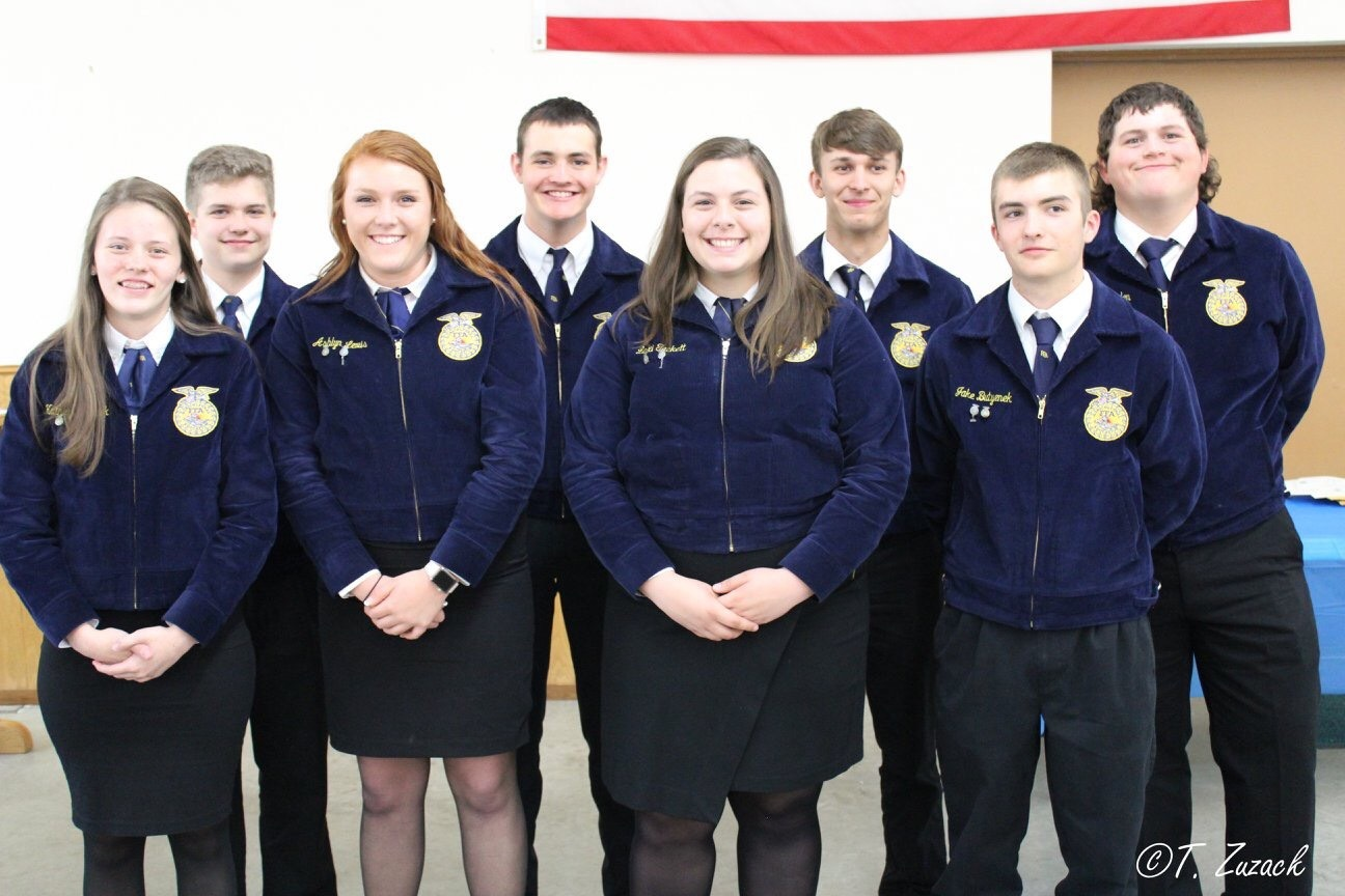 FFA Officers 2018-19