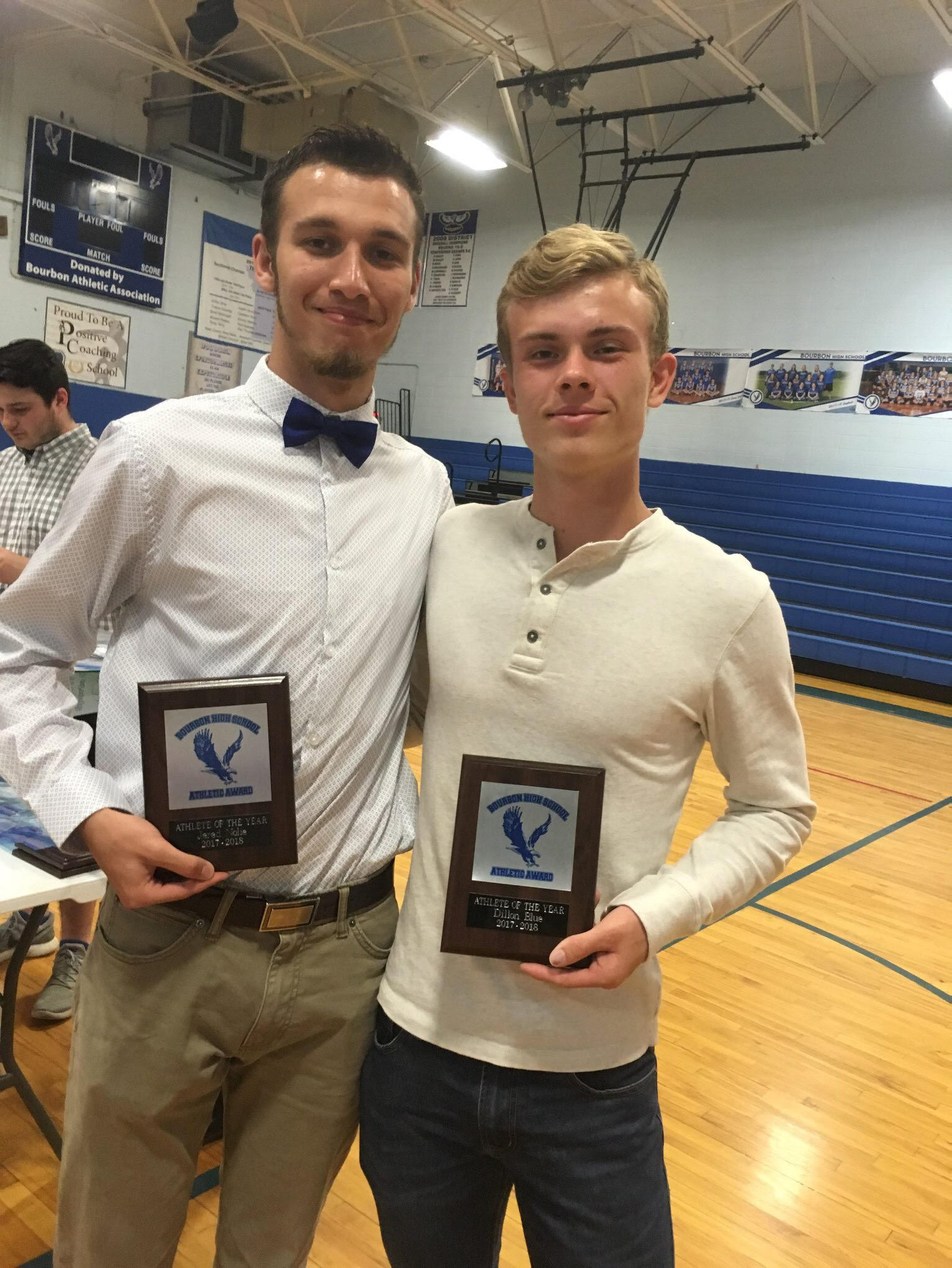 Athletes of the Year ~ Jered Nolie & Dillon Blue
