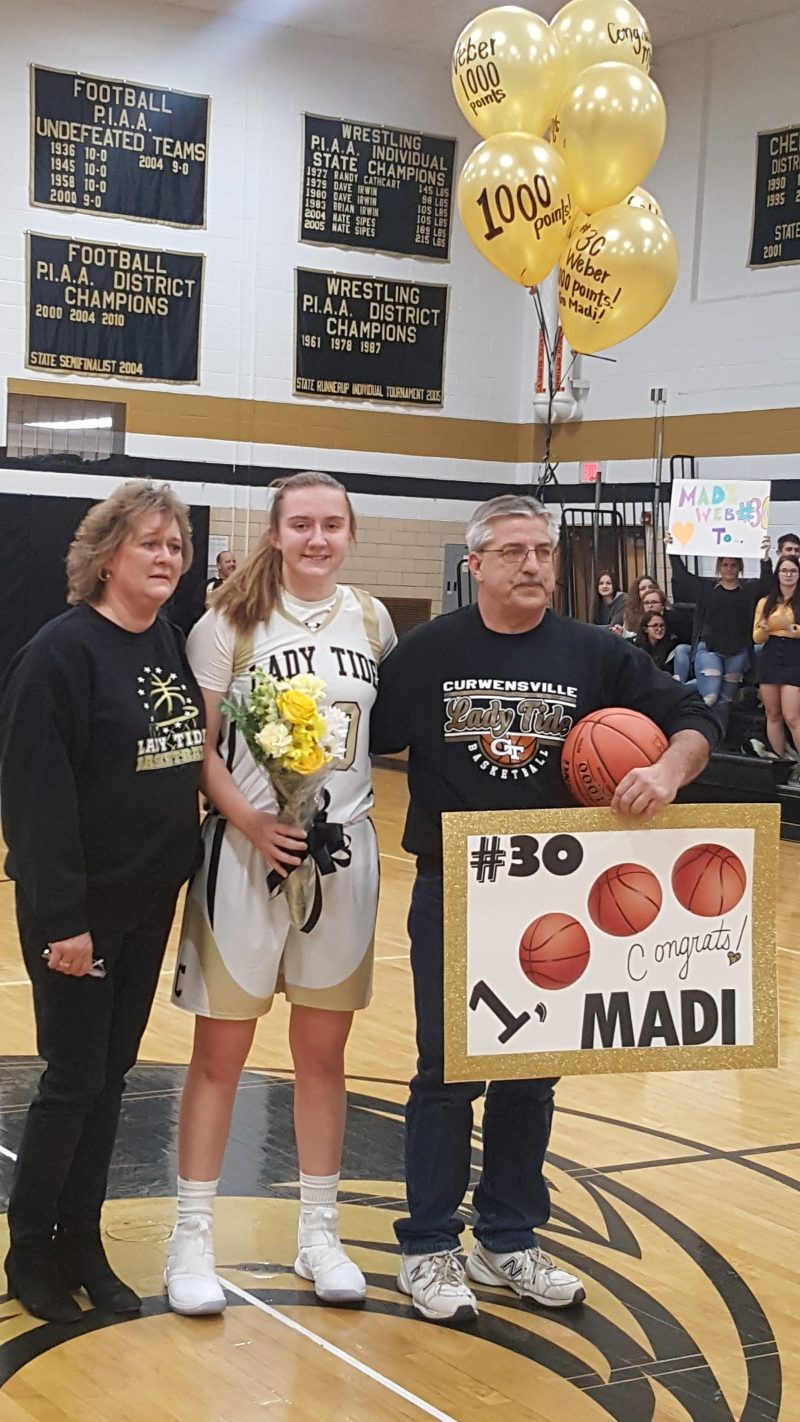 Weber Surpasses 1,000 Points as Lady Tide Drop Harmony